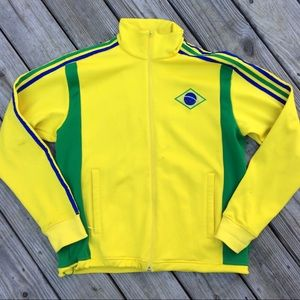 Adidas Men's Brazil Track Jacket Medium